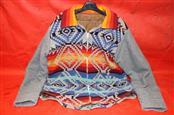 PENDLETON Jacket Coat Wool ANGRY BIRD *LARGE* Western Indian